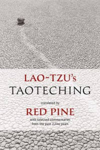 Book cover of Lao-Tzu's Taoteching translated by Red Pine, Copper Canyon Press