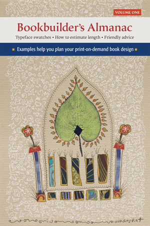 Cover of the new publication Bookbuilder's Almanac