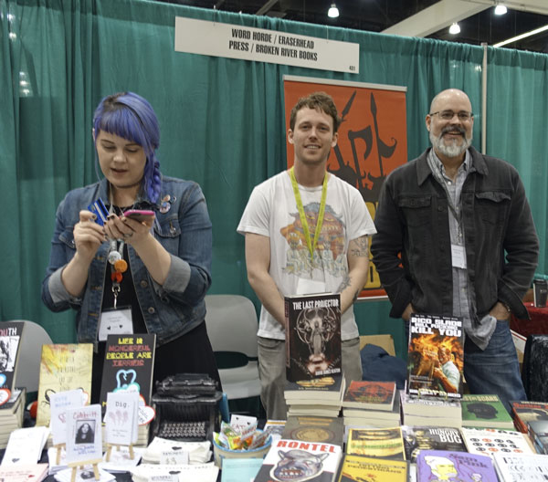 AWP16 Broken River Books booth