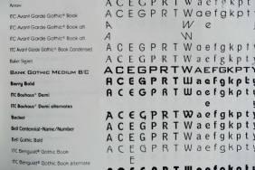 Identifont Sans Serif page